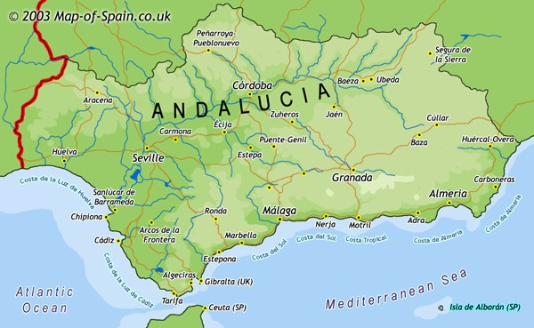 Andalucía is the land of traditional Spanish gazpacho